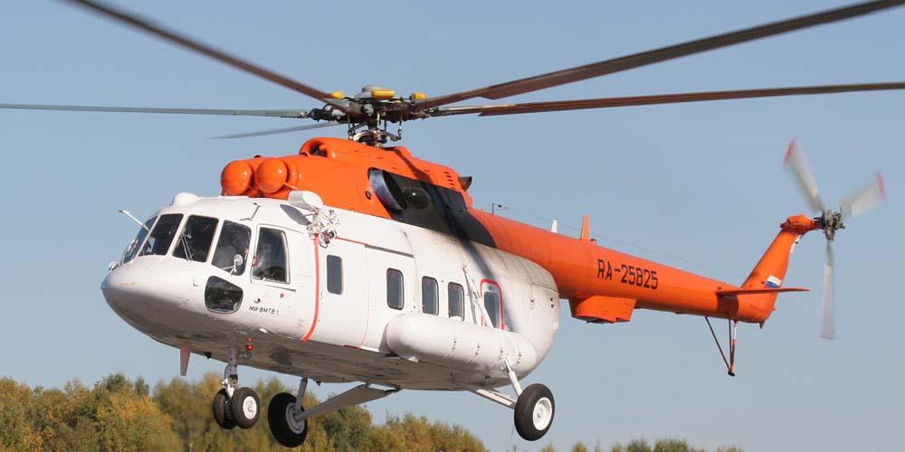 В Сахалинской области возобновилось вертолетное сообщение между Курильскими островами
