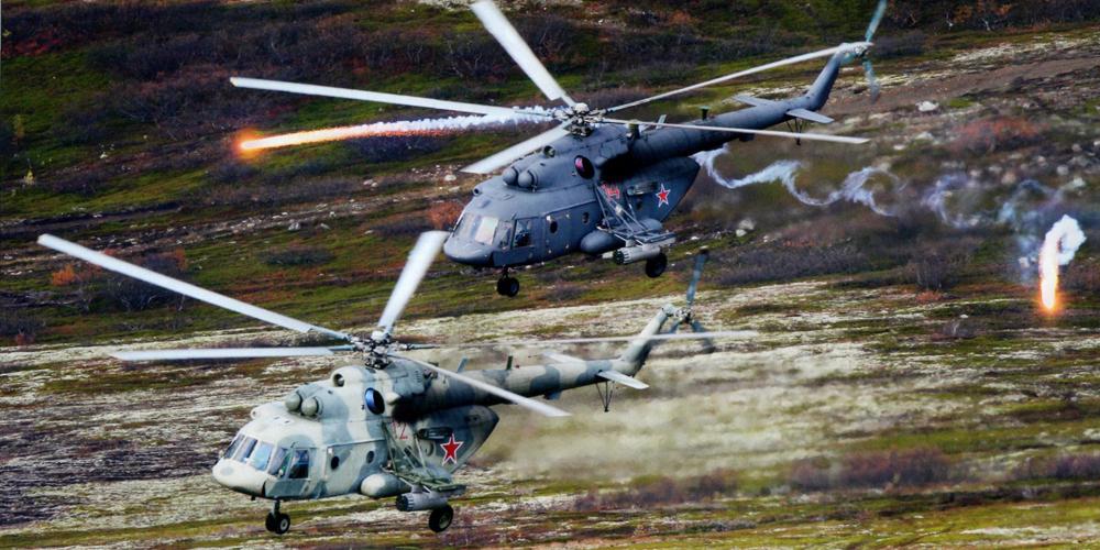 Спасатели космонавтов получат новые вертолеты Ми-8 МТВ-5