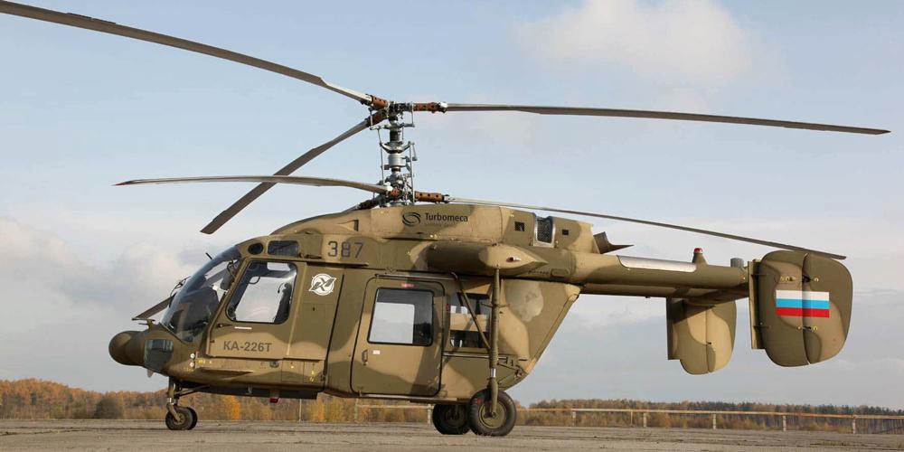 РФ представит в Индии новый многоцелевой вертолет «Ансат»