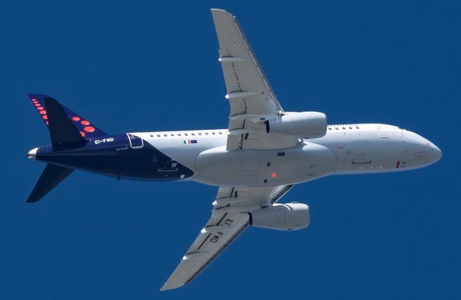 В авиапарке «Brussels Airlines» теперь воздушное судно «SSJ 100»
