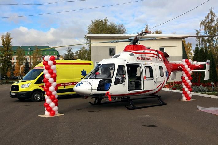 В Китае презентовали российские медицинские вертолеты