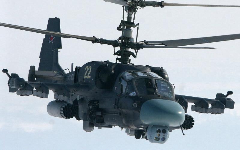 Министерство обороны РФ рассекретило результаты испытаний Ка-52К «Катран»